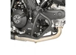 TN7407 - Givi Defensas de motor tubular negro Ducati Scrambler 400/800