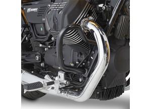 TN8202 - Givi Defensas de motor tubular especifica negro Moto Guzzi V9