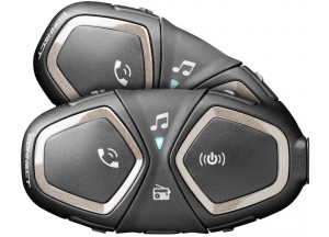 Intercomunicador Doble Twin Pack Cellularline Connect Bluetooth Universal