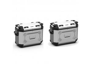 KFR4837APACK2 - Kappa Par de maletas laterales MONOKEY K-FORCE aluminio 48-37 Lt