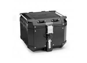 KFR420B - Kappa Maleta MONOKEY® K-FORCE en aluminio pintado de negro 42 Lt