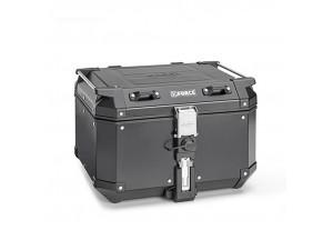 KFR480B - Kappa Maleta MONOKEY® K-FORCE en aluminio pintado de negro 48 Lt