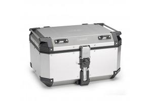 KFR580A - Kappa Maleta MONOKEY® K-FORCE en aluminio natural 58 Lt
