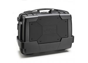 KGR33N - Kappa Maleta MONOKEY® GARDA 33 Lts negra y sobretapa color negro