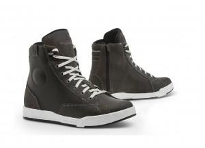 Zapatos Moto Forma Urban CREED Gris Blanco