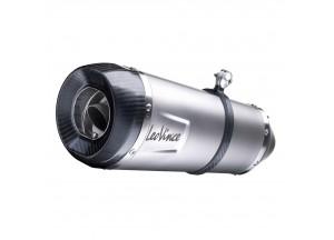 14212S - Silenciador Escape LeoVince Factory S Inox  KYMCO AK550 ABS (17-18)