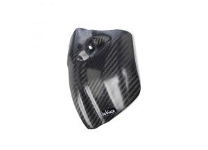 10012 - Protector motor lado izquierdo Leovince Fibra Carbono Honda CRE 250 F