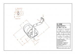 0230 - Silenciador Leovince Sito 2 T VESPA PK 50 - XL - RUSH - N - FL2 - HP