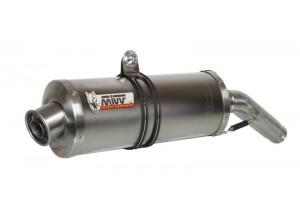 S.001.LN - Silenciador Escape Mivv Oval Titan Suzuki GSX-R GSXR 600/750 96/00