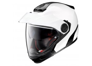 Casco Integral Crossover Nolan N40-5 GT Classic 5 Metal Blanco