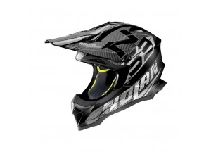 Casco Integrale Off-Road Nolan N53 Whoop 46 Flat Negro