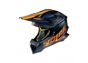 Casco Integrale Off-Road Nolan N53 Whoop 47 Flat Negro