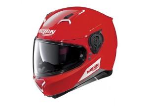 Casco Integral Nolan N87 Emblema 75 Corsa Rojo