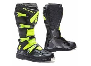 Botas Forma Off-Road Motocross MX Terrain Evo Black Fluo Yellow