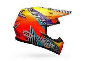 Casco Bell Off-Road Motocross Moto-9 Mips Tagger Breakout Brillante Naranja