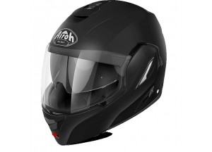 Casco Integral Abierto Airoh Rev Negro mate