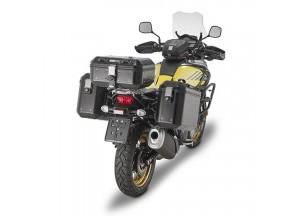 DLM36BPACK2 - Givi Pack de 2 maletas en aluminio pintado negro, 36 litros