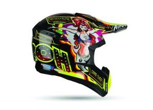 Casco Integral Off-Road Airoh Switch Flipper Brillante