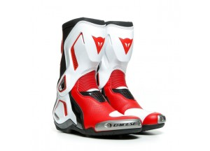Botas Dainese Racing TORQUE 3 OUT AIR Negro Blanco Rojo-Lava