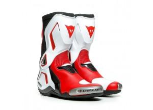 Botas Dainese Racing TORQUE 3 OUT Negro Blanco Rojo-Lava