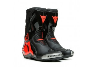 Botas Dainese Racing TORQUE 3 OUT Negro Rojo-Fluo
