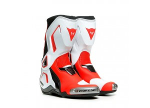 Botas Dainese Racing TORQUE 3 OUT LADY Negro Blanco Rojo-Fluo