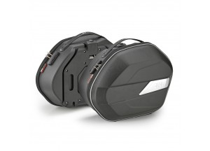 WL900 - Givi Par de bolsas laterales Monokey semirrígidas 25 Litros