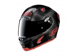 Casco Integral X-Lite X-803 Ultra Carbon Puro Sport 3 Negro Brillante
