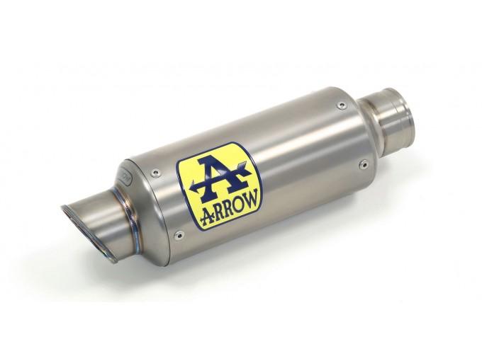 71007GP - Auspufftoepf ARROW GP2 TITA C/RACC.EDELSTAHL GP2 KAWASAKI ZX-10R 11>