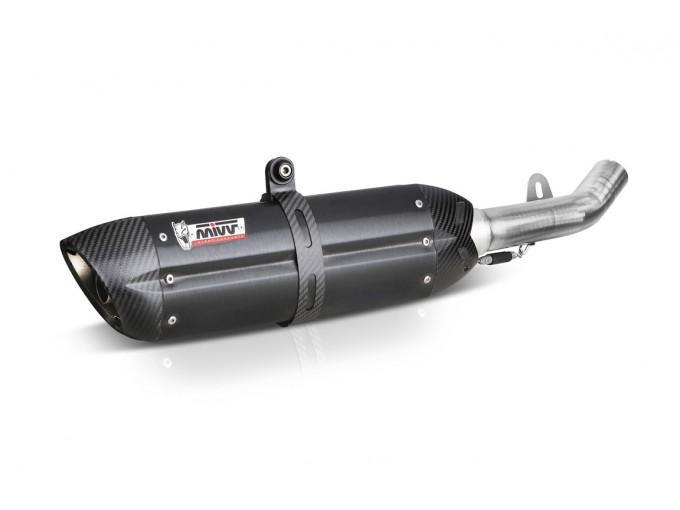 B.002.L9 - Schalldämpfer Auspuff Mivv Suono Steel Black BMW R 1200 GS 04-07