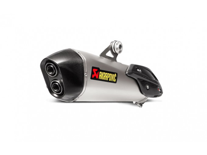 S-B6SO7-HZAAT - Auspufftopf Akrapovic Slip-On Titanium BMW C 650 Sport 16