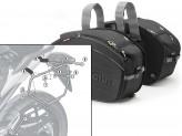 Satteltaschen Givi EA100B + Abstandshalter für Honda NC700S (12 > 13)