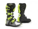 Stiefel Forma Off-Road Motocross MX GRAVITY Schwarz Weiß