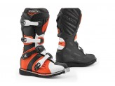 Stiefel Forma Off-Road Motocross MX GRAVITY Schwarz Orange Weiß
