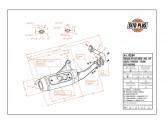 0554 - Schalldaempfer Leovince Sito 2T Gilera STORM TYPHOON Piaggio NTT ZIP FAST