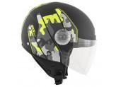 Helm Jet Givi 10.7 Mini-J Graphic Camouflage