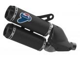 D003CO - Auspufftöpfe Genehmigt Termignoni Kohlenstoff Ducati Monster 1200