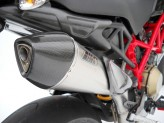 ZD108SKR - Auspuffanlage Zard Scudo Edelstahl/Aluminiumr Ducati Hypermotard