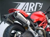 ZD115CSR - Auspufftöpfe Zard Conical Kohlenstoff Ducati Monster 696 / 769 / 1100