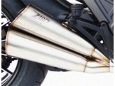 ZD117LIMTSR - Auspufftopf Zard LIMITED EDITION Titan  Ducati DIAVEL (11-18)