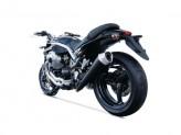 ZG070SSO - Auspufftopf Zard Conical Edelstahl Euro 3 Moto Guzzi Griso