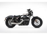 ZHD539SKR-CR-14 - Auspuff Zard Sport Edelstahl Harley-Davidson SPORTSTER (14-16)