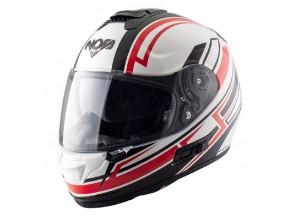 Integral Helm Nos NS7F Adrenaline Weiß