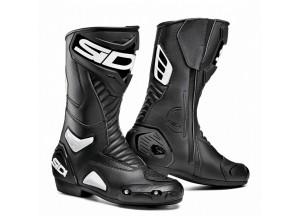 Motorradstiefel Racing Sidi Performer Lei Schwarz Weiß