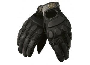 Vintage Leder Handschuhe Dainese Blackjack Schwarz/Schwarz/Schwarz
