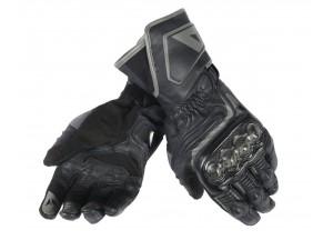 Motorradhandschuhe Carbon D1 Long Schwarz/Schwarz/Schwarz