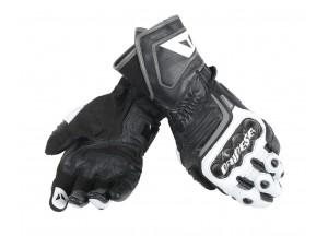 Motorradhandschuhe Carbon D1 Long Schwarz/Weiß/Anthracite
