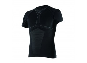Gestrickte Thermal Moto Dainese  D-Core Dry Tee SS Schwarz/Anthrazit