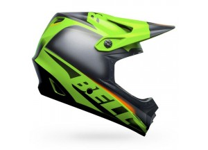 Helm Bell Off-road Motocross Moto-9 YOUTH Mips Glory Matt Schwarz Grün
