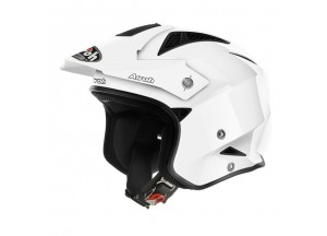 Helm Jet On-Off Airoh Trr S Color Weiss Glanzed